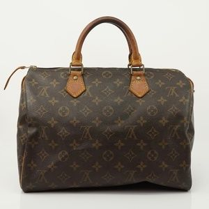 Auth Louis Vuitton Speedy 30 Bag #1149L15
